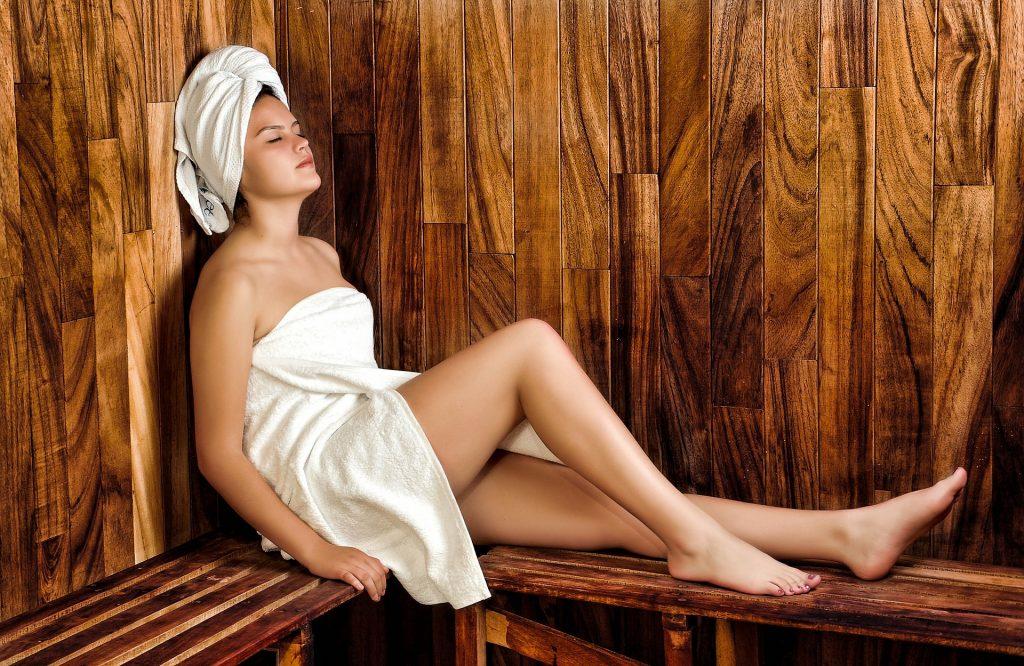 wat doet sauna met je gezicht